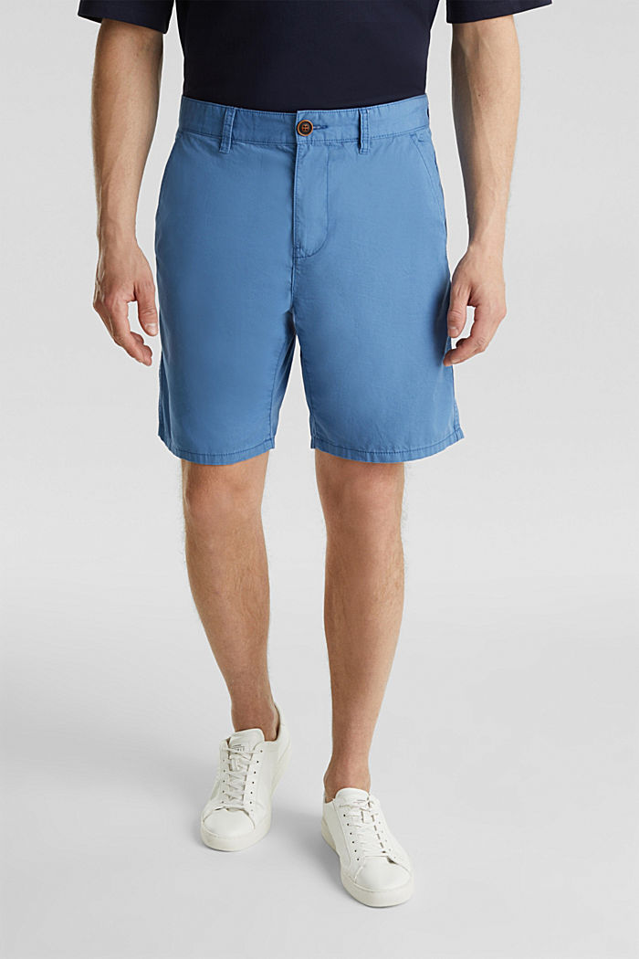 Bermudas in 100% cotton, BRIGHT BLUE, detail image number 0