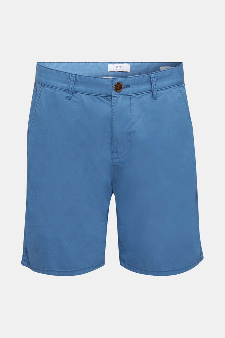Bermudas in 100% cotton, BRIGHT BLUE, detail image number 5
