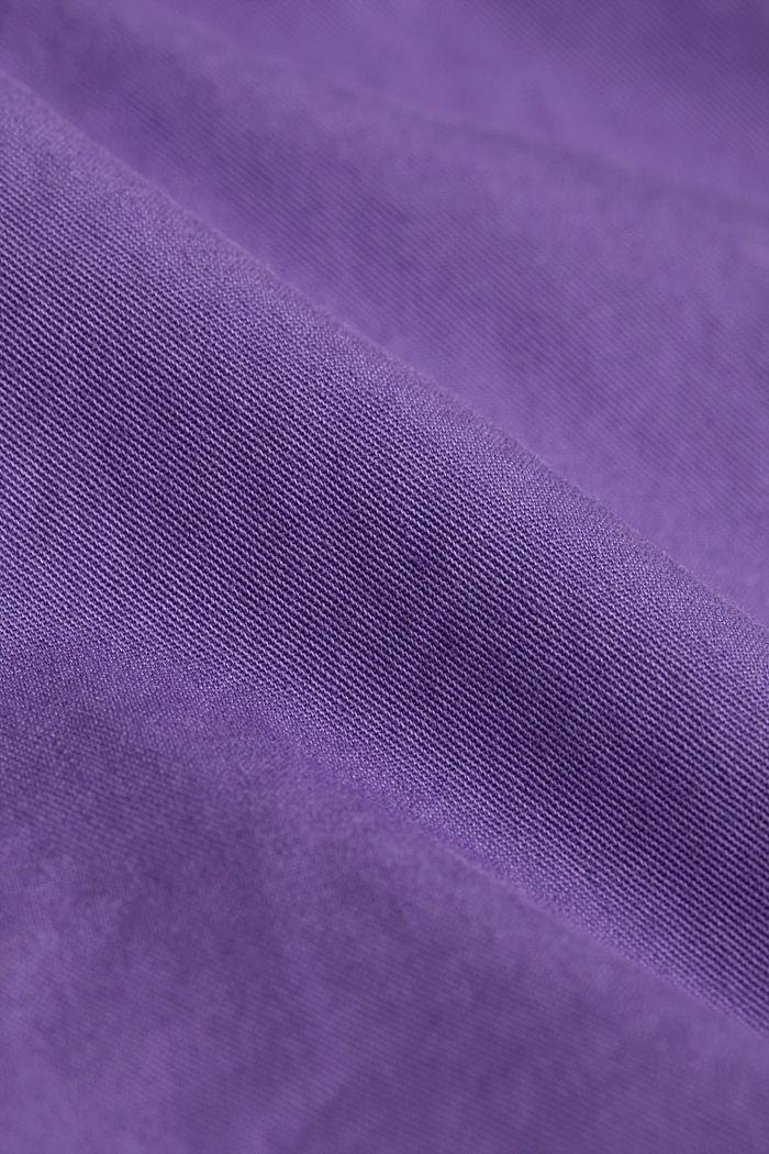 Bermudas in 100% cotton, VIOLET, detail image number 4