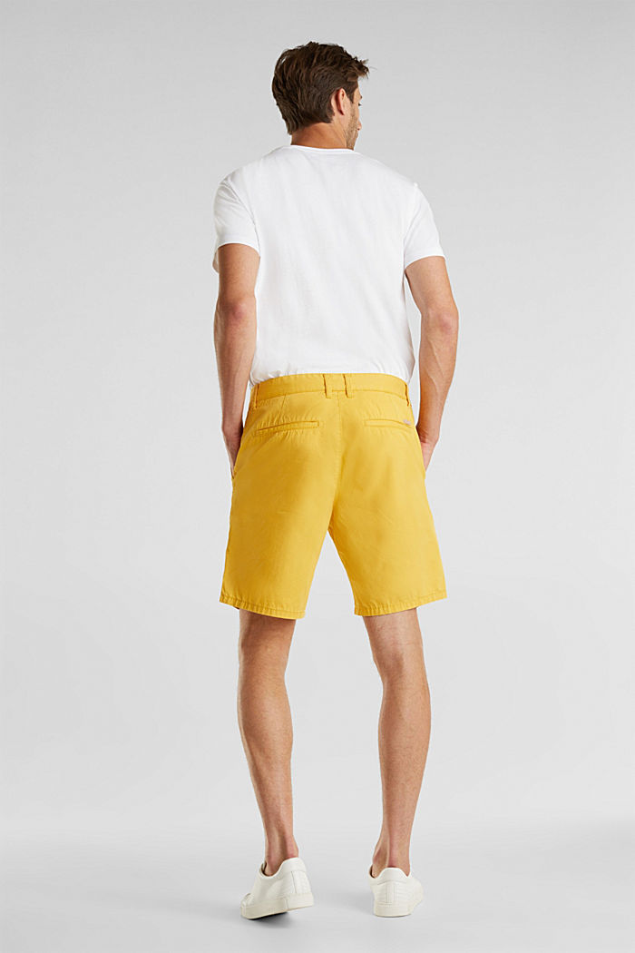 Bermudas in 100% cotton, LIME YELLOW, detail image number 3