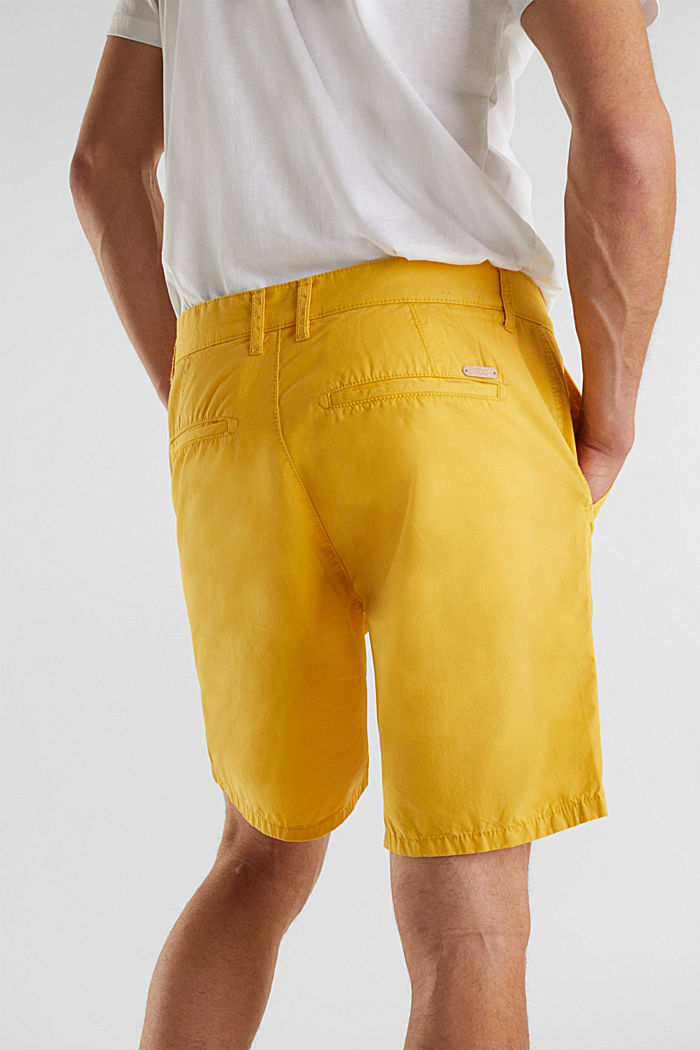 Bermudas in 100% cotton, LIME YELLOW, detail image number 2