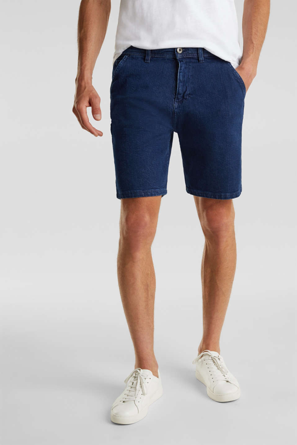 edc - Denim shorts in a utility look