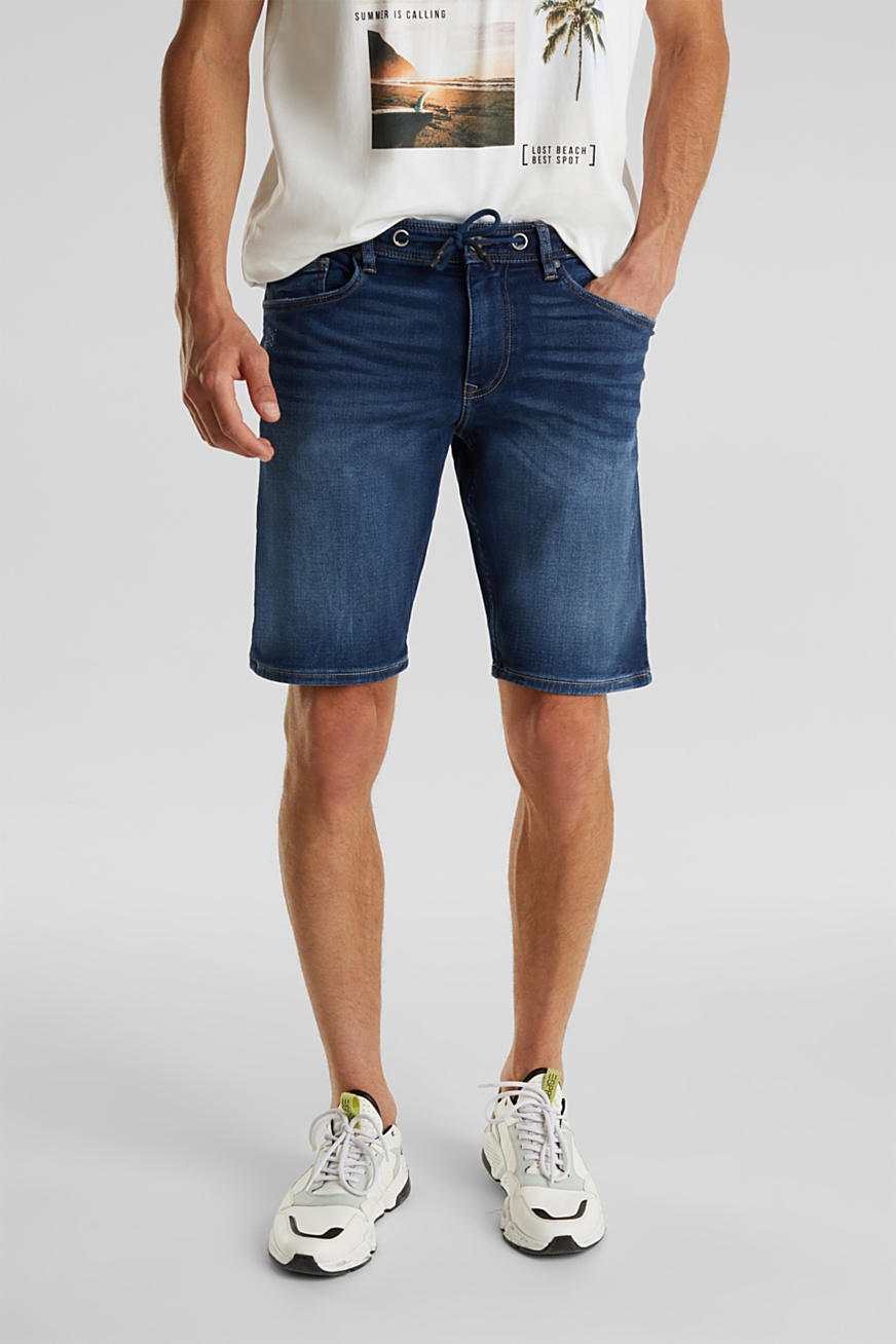 Bermuda en jean super stretch
