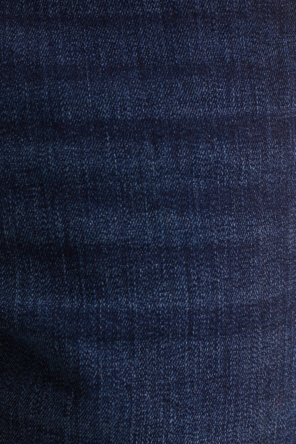 Super stretch denim shorts, BLUE DARK WASH, detail image number 4