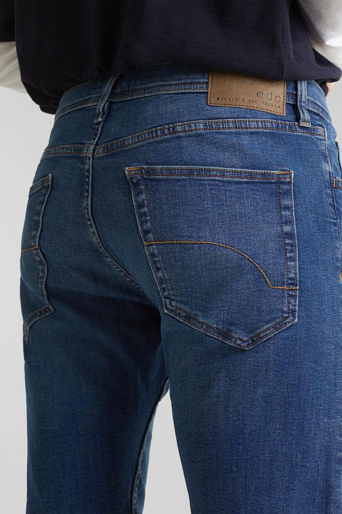 Superstretch-Denim-Shorts, BLUE MEDIUM WASHED, detail image number 5