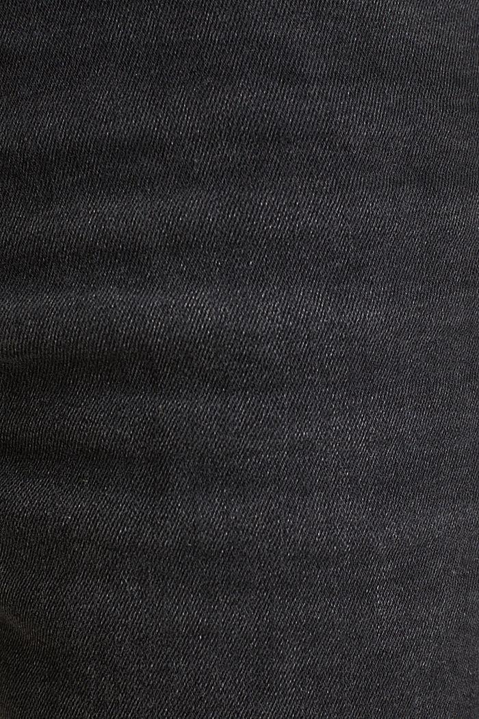 Superstretch-Denim-Shorts, BLACK DARK WASHED, detail image number 4