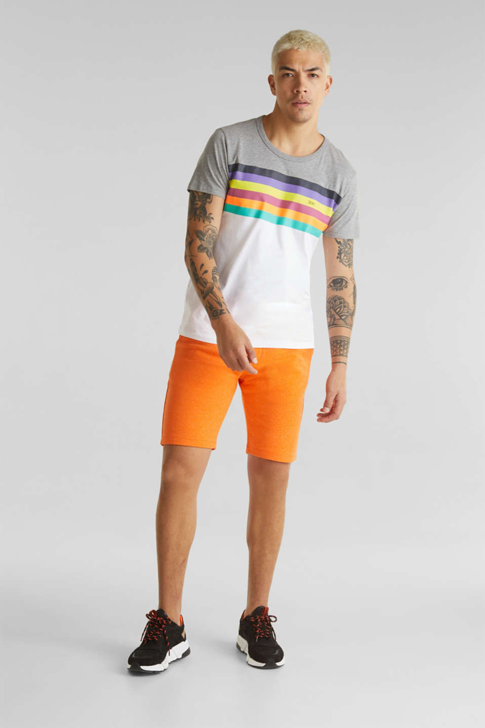 edc - Shorts aus Sweat-Material