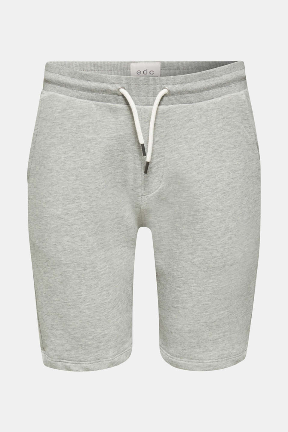 Blended cotton sweat shorts, MEDIUM GREY 5, detail image number 6