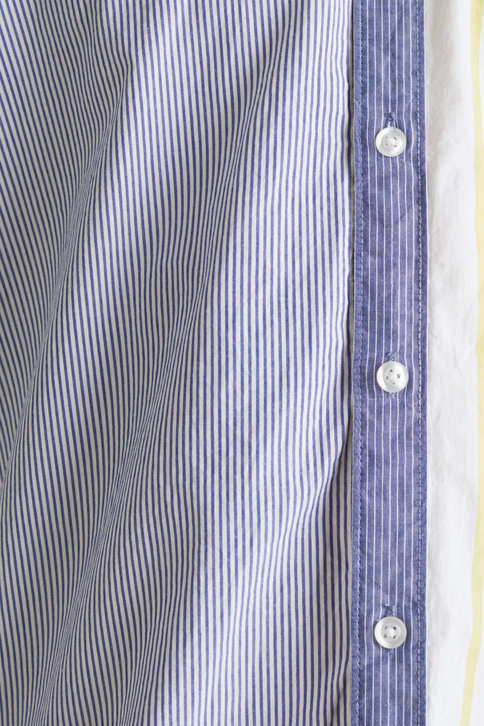 Patchwork shirt made of 100%, INK 3, detail image number 3