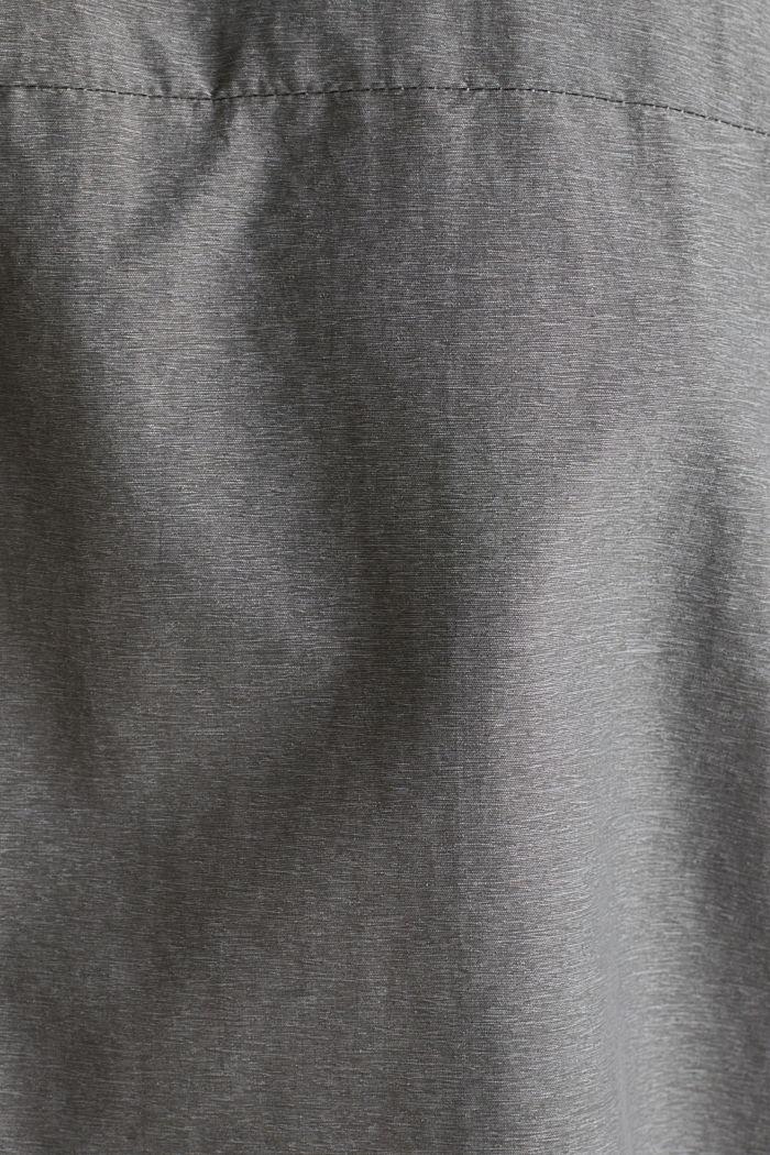 Regenjacke mit Kapuze, MEDIUM GREY, detail image number 5