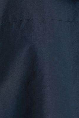 Rain jacket with hood, DARK BLUE, detail
