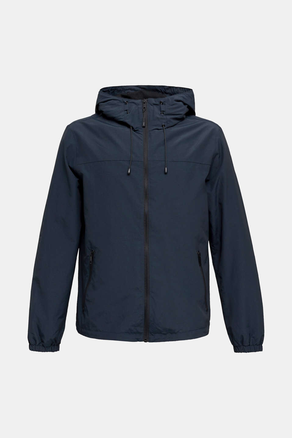 Rain jacket with hood, DARK BLUE, detail image number 6