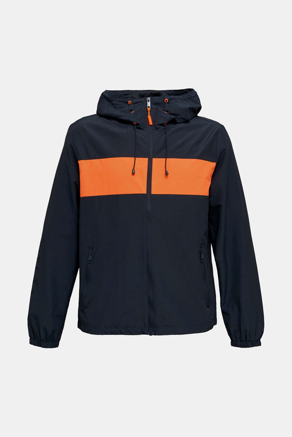 Rain jacket with hood, DARK BLUE 2, detail image number 6