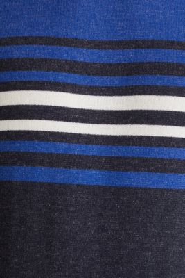 Colour block jumper, 100% cotton, BLUE 3, detail
