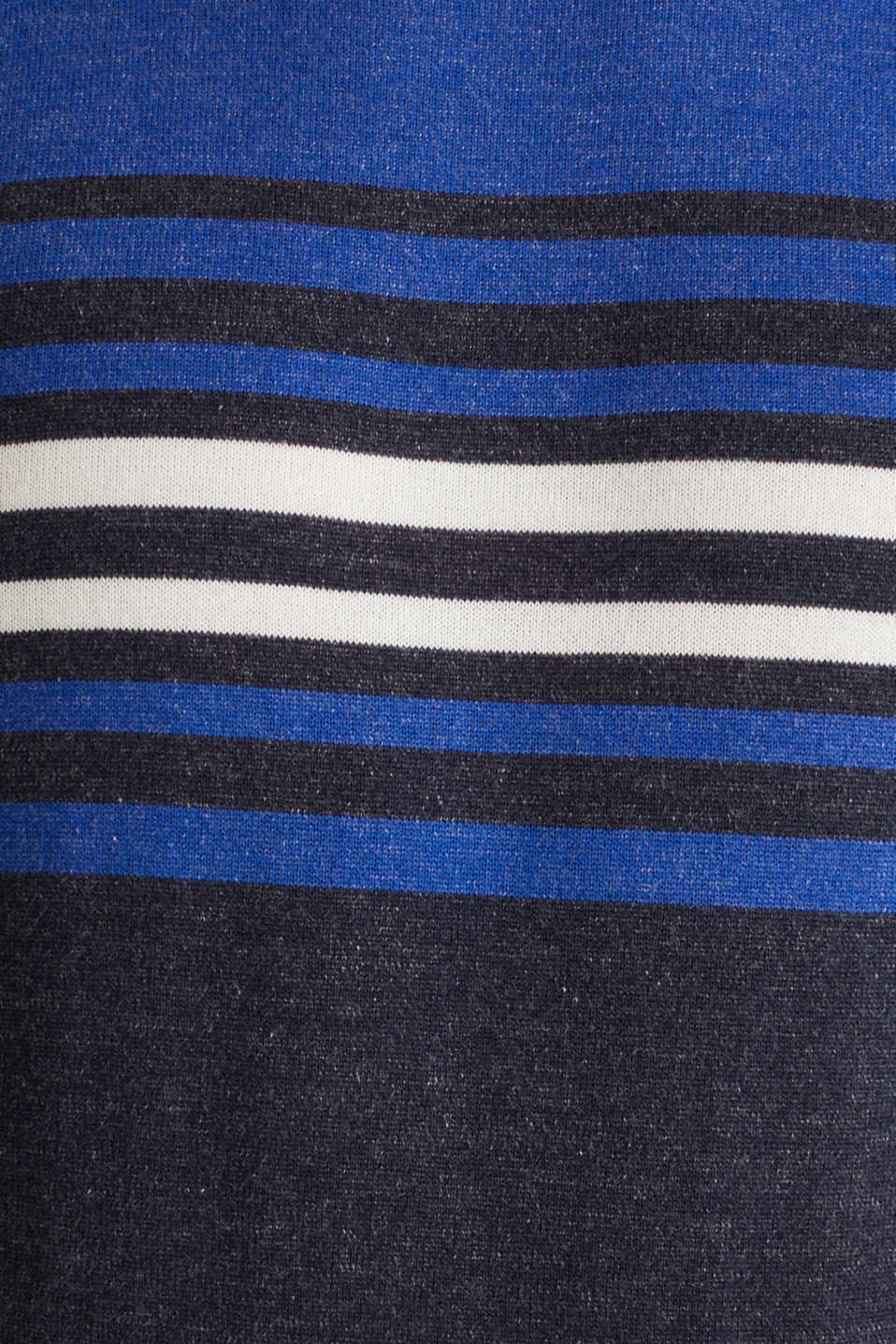 Colour block jumper, 100% cotton, BLUE 3, detail image number 4