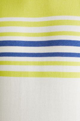 Colour block jumper, 100% cotton, BRIGHT YELLOW 3, detail