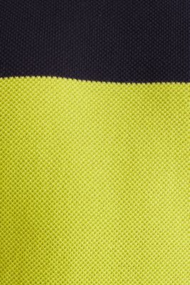 NEON block stripe jumper, 100% cotton, NAVY 3, detail