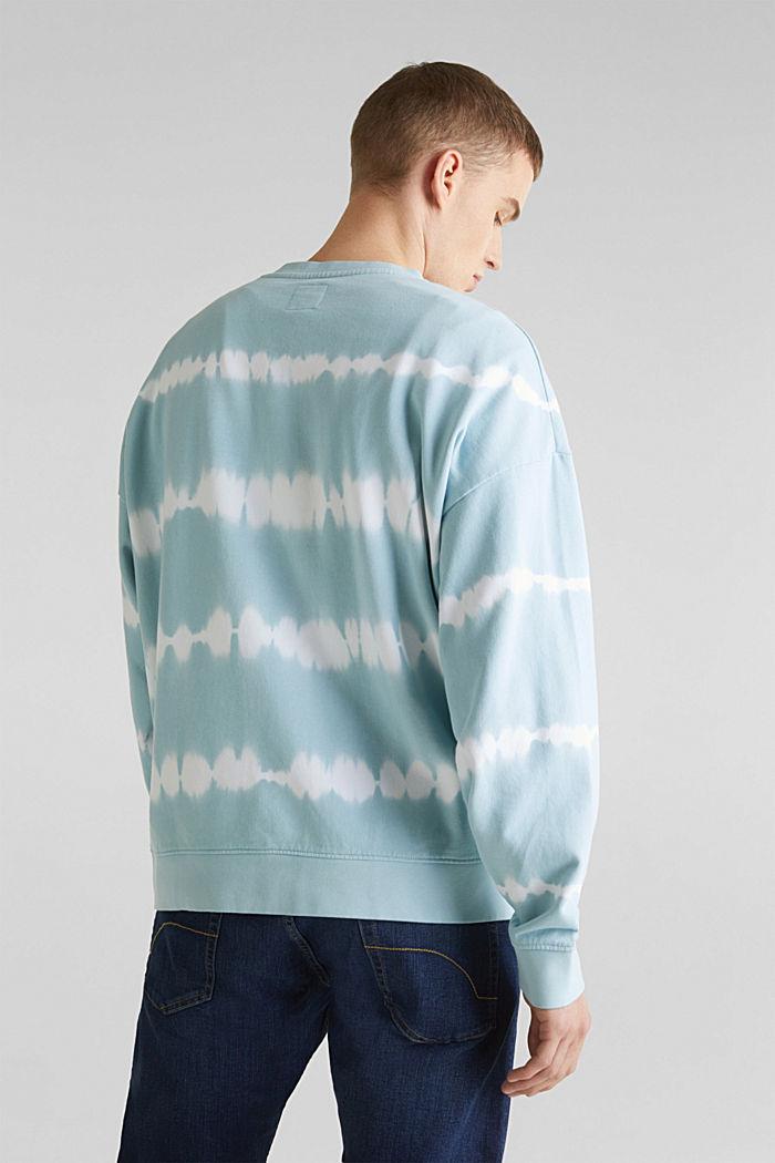 Batik-Sweatshirt mit Organic Cotton, LIGHT BLUE, detail image number 3