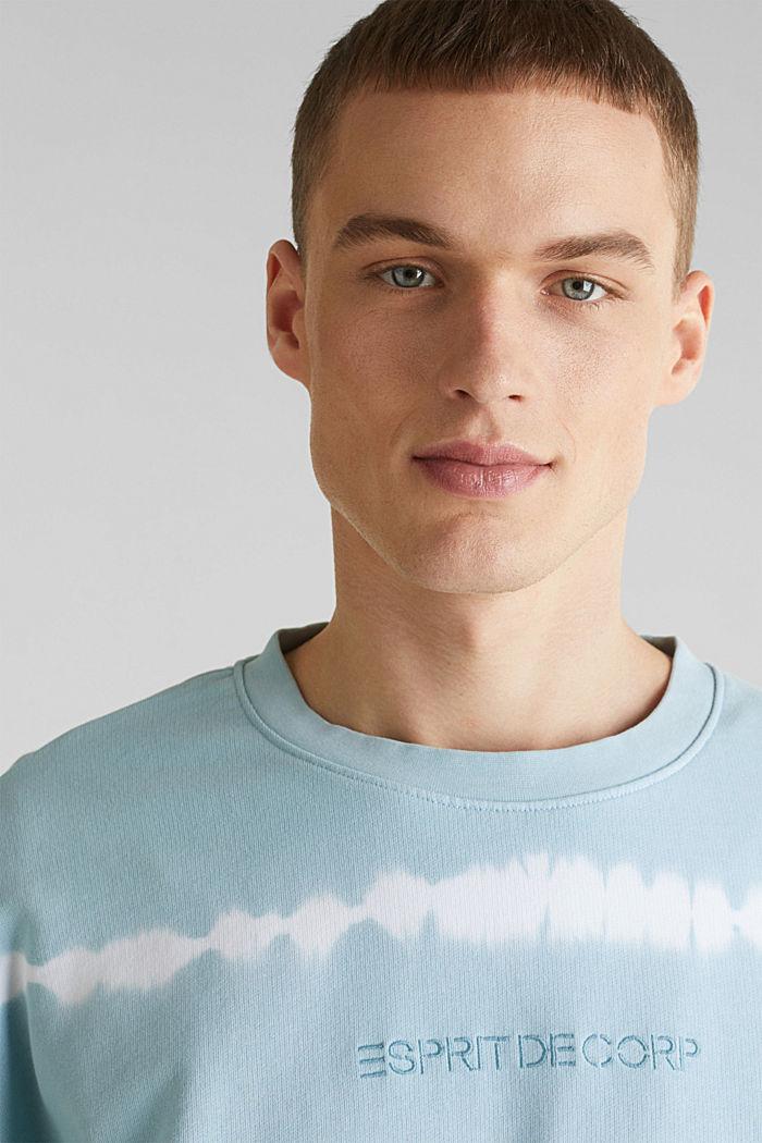 Batik-Sweatshirt mit Organic Cotton, LIGHT BLUE, detail image number 2