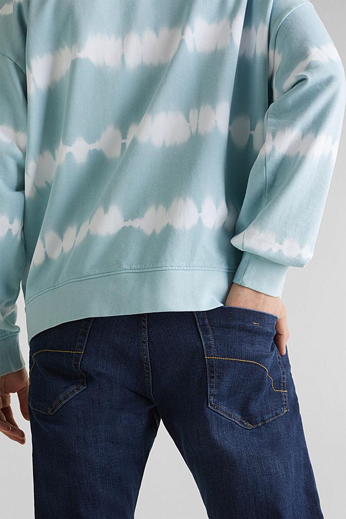 Batik-Sweatshirt mit Organic Cotton, LIGHT BLUE, detail image number 6