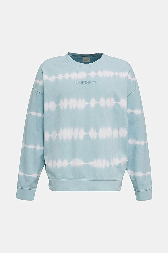Batik sweatshirt with organic cotton