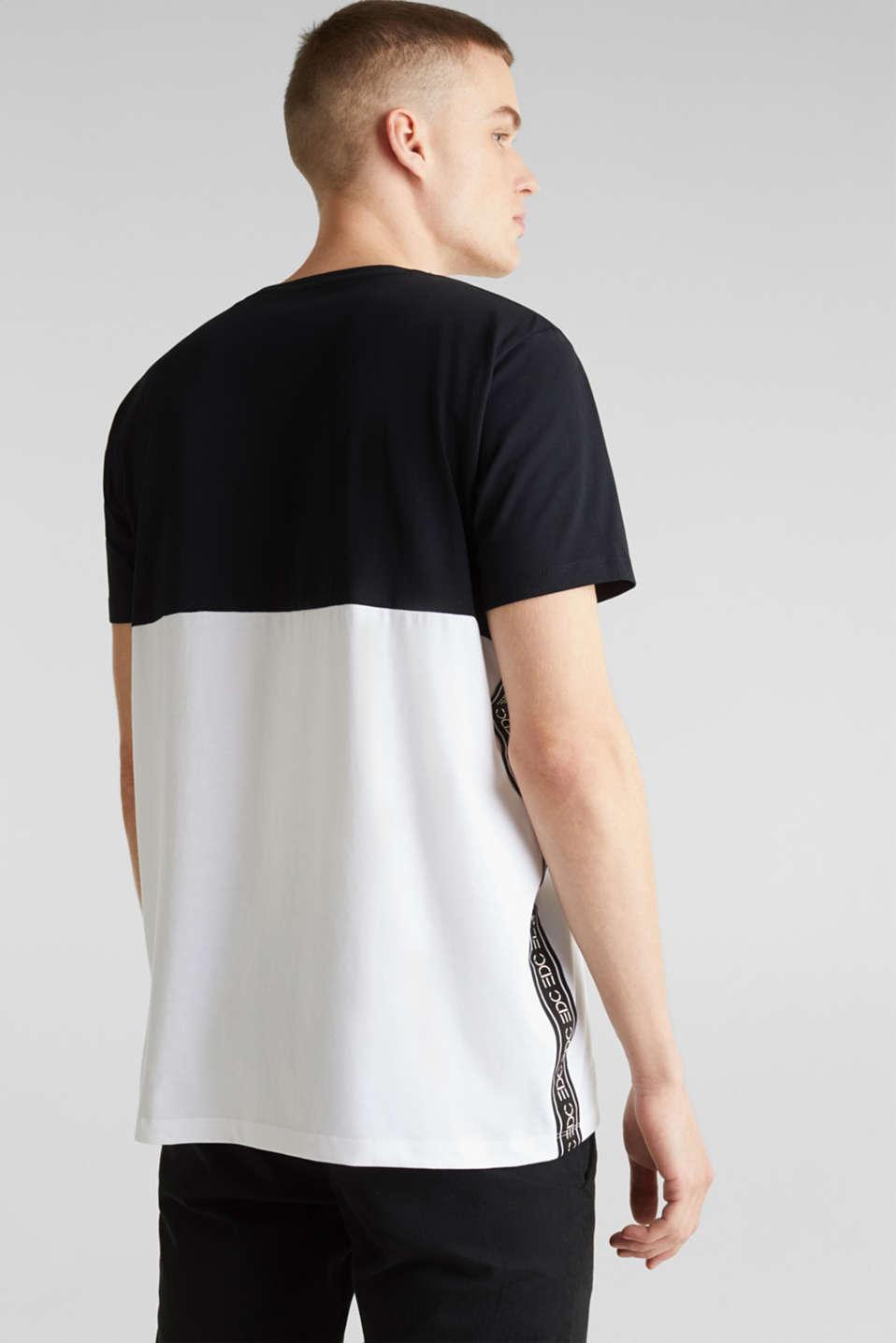 Jersey logo T-shirt, 100% cotton, BLACK 2, detail image number 3