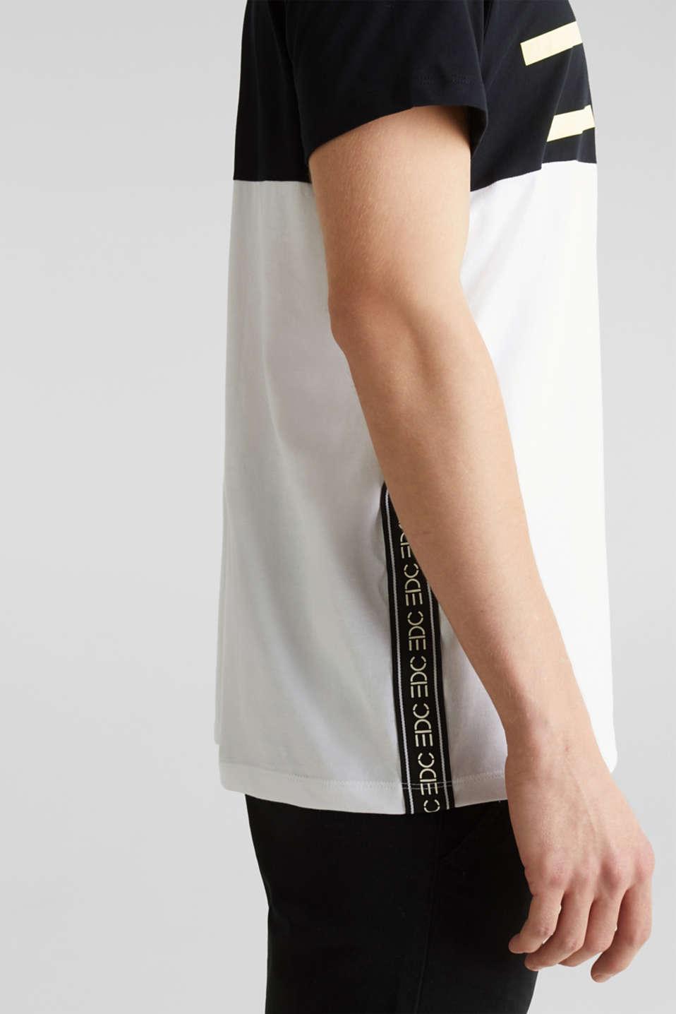 Jersey logo T-shirt, 100% cotton, BLACK 2, detail image number 1