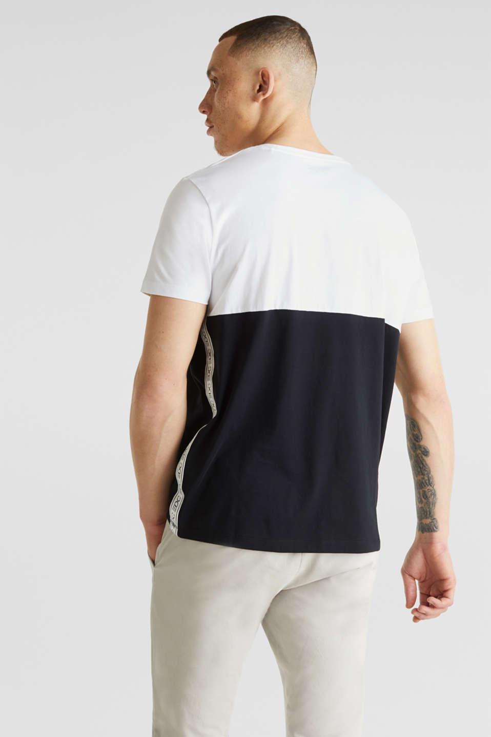 Jersey logo T-shirt, 100% cotton, WHITE 2, detail image number 3
