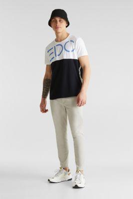 Jersey logo T-shirt, 100% cotton, WHITE 2, detail