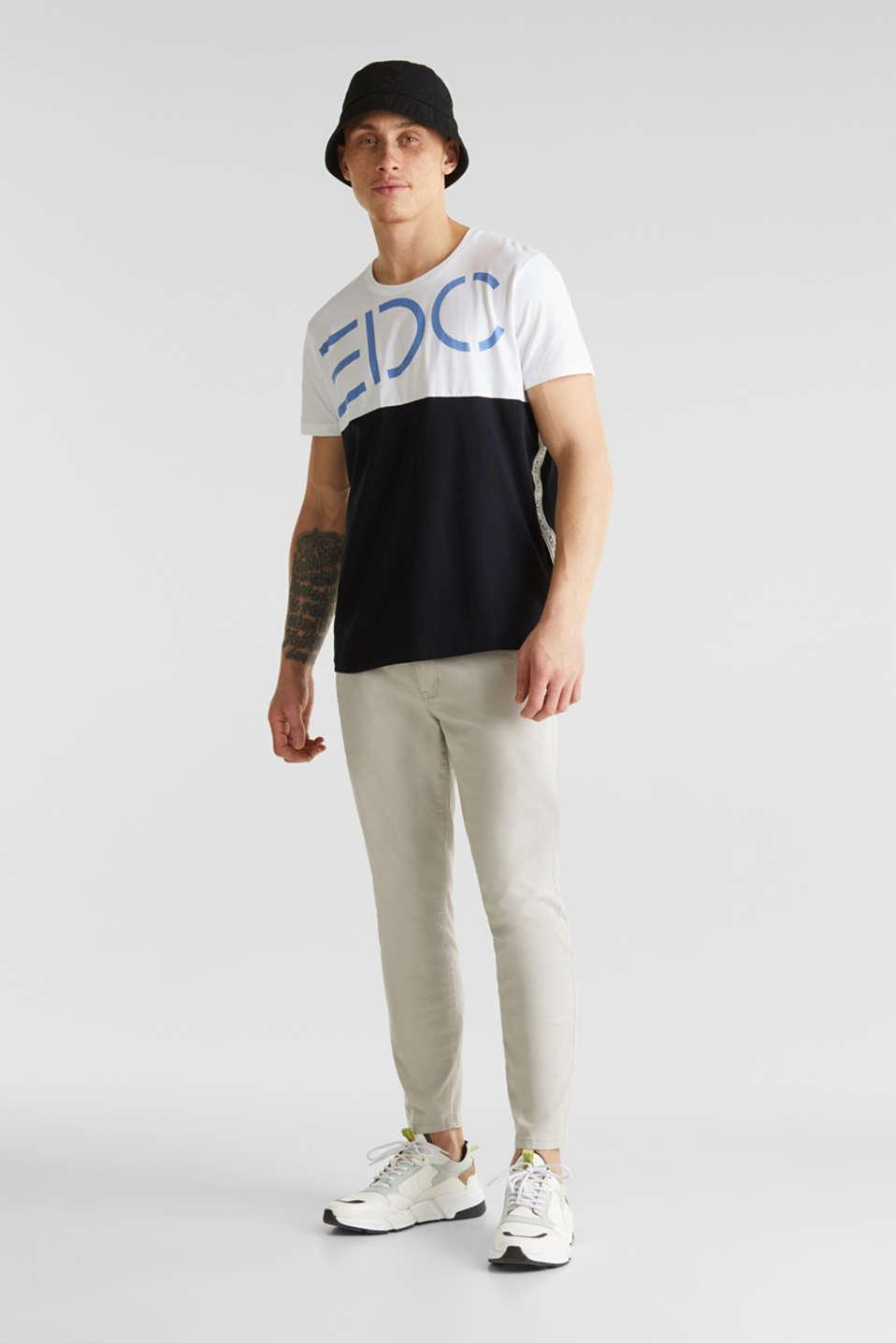 Jersey logo T-shirt, 100% cotton, WHITE 2, detail image number 2