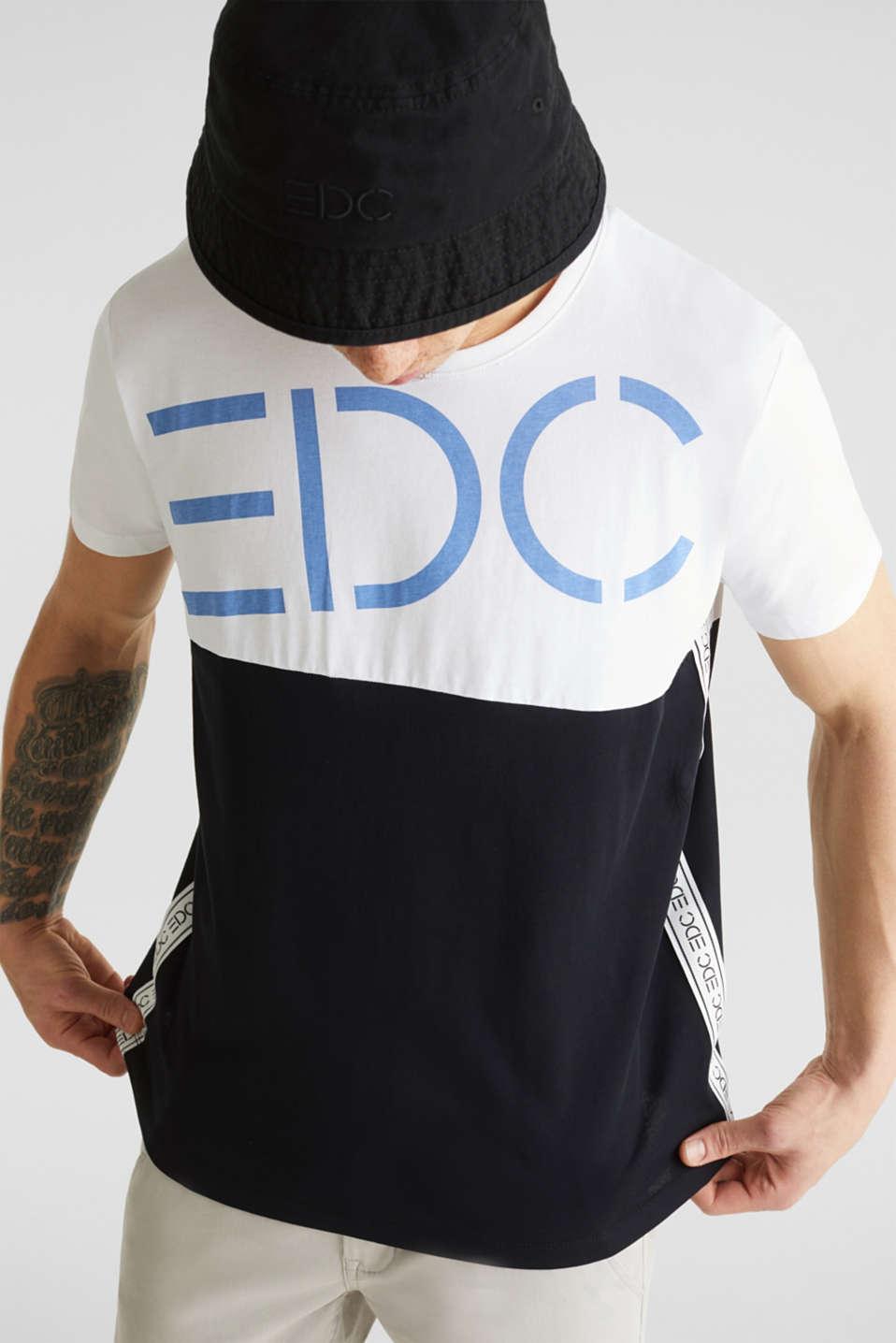 Jersey logo T-shirt, 100% cotton, WHITE 2, detail image number 5