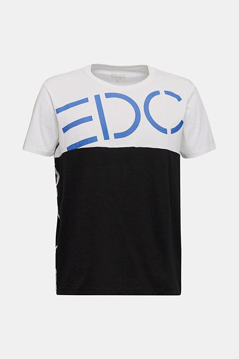 Jersey logo T-shirt, 100% cotton