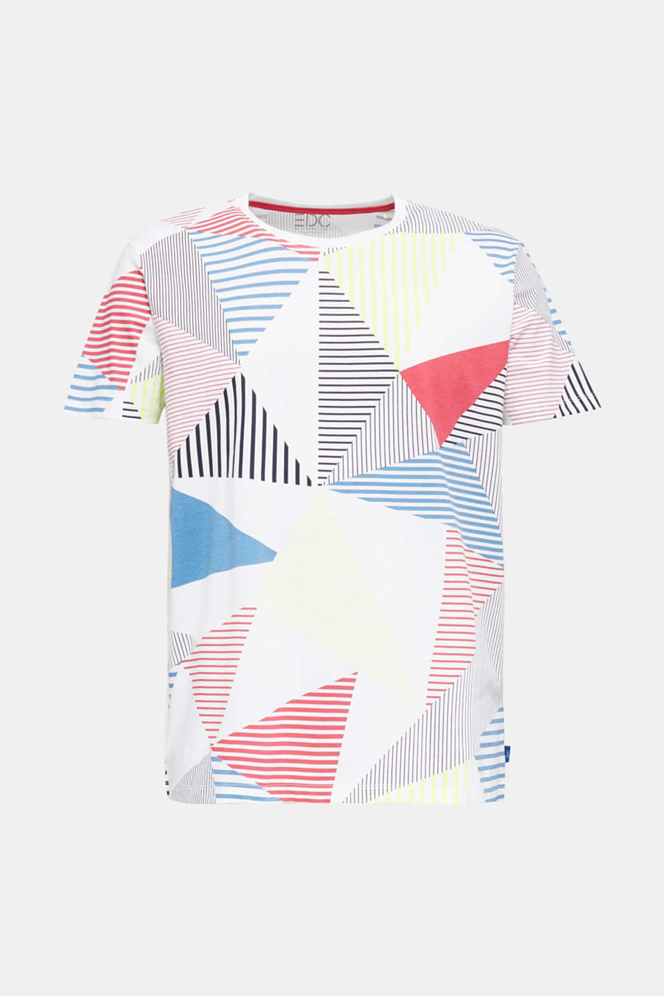 Jersey T-shirt in 100% cotton, WHITE, detail image number 6