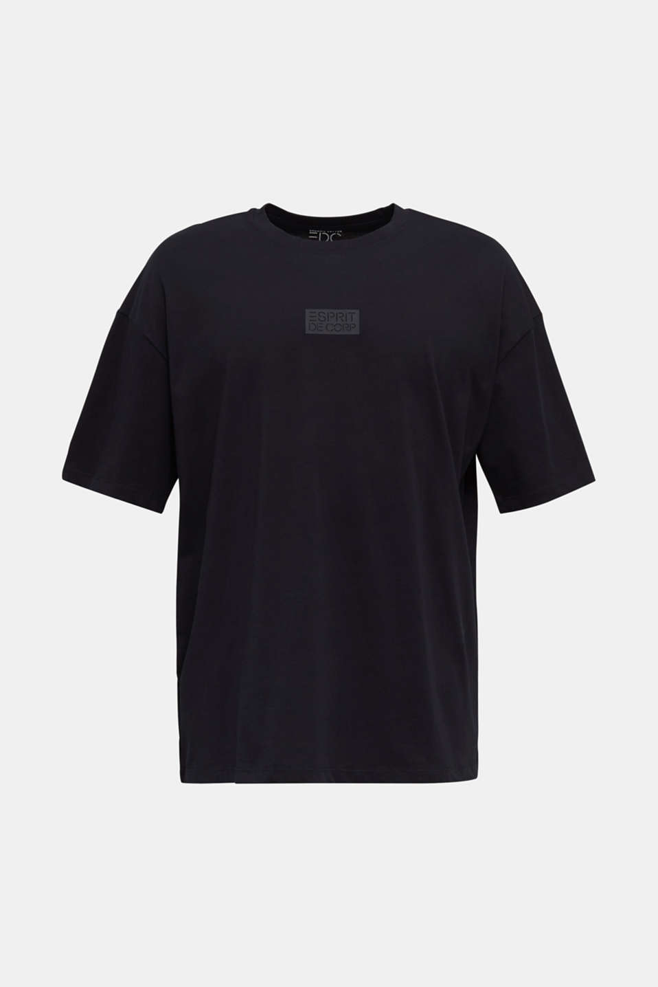 T-shirt with organic cotton, BLACK, detail image number 6