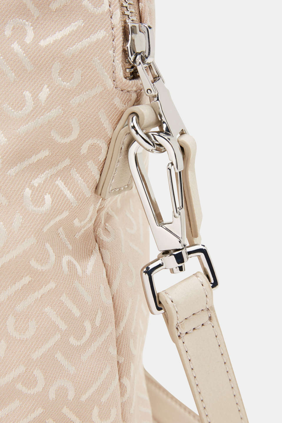 Business bag with a monogram, BEIGE, detail image number 4