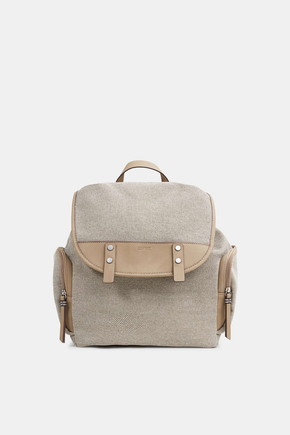 Esprit - Canvas rucksack, 100% cotton