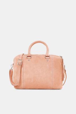 Leather bag, PEACH, detail