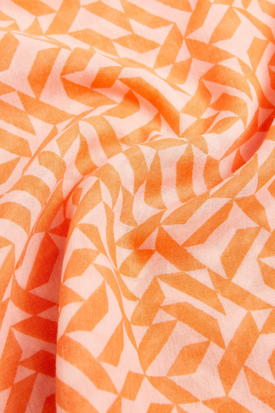 Printed snood, recycled, SALMON, detail image number 2