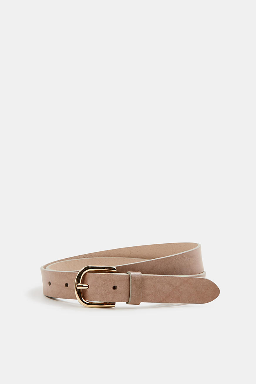Leather belt