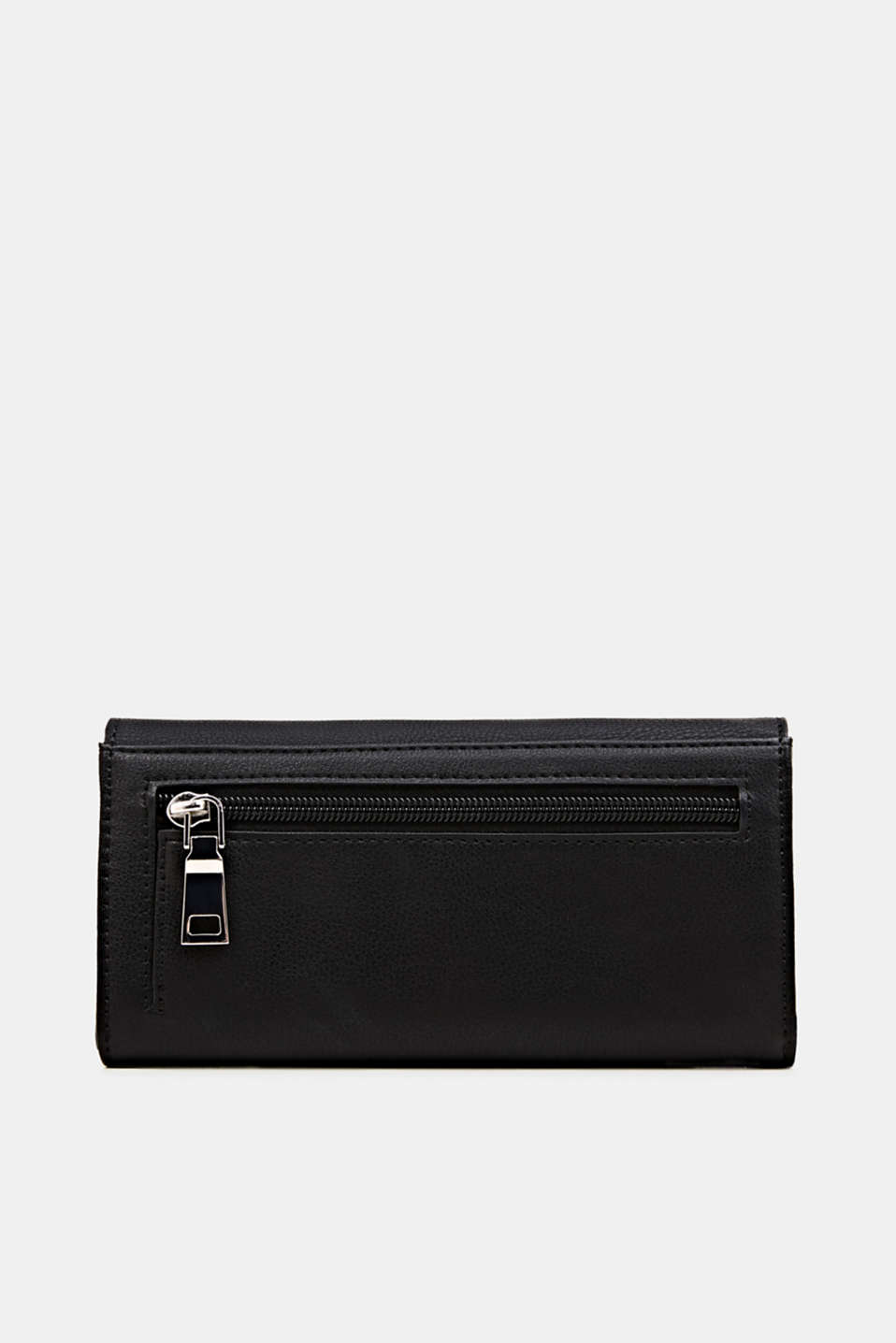 Faux leather purse, BLACK, detail image number 1