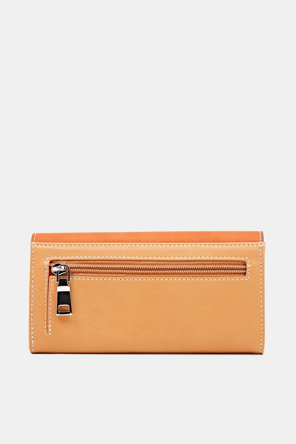 Faux leather purse, BURNT ORANGE, detail image number 1