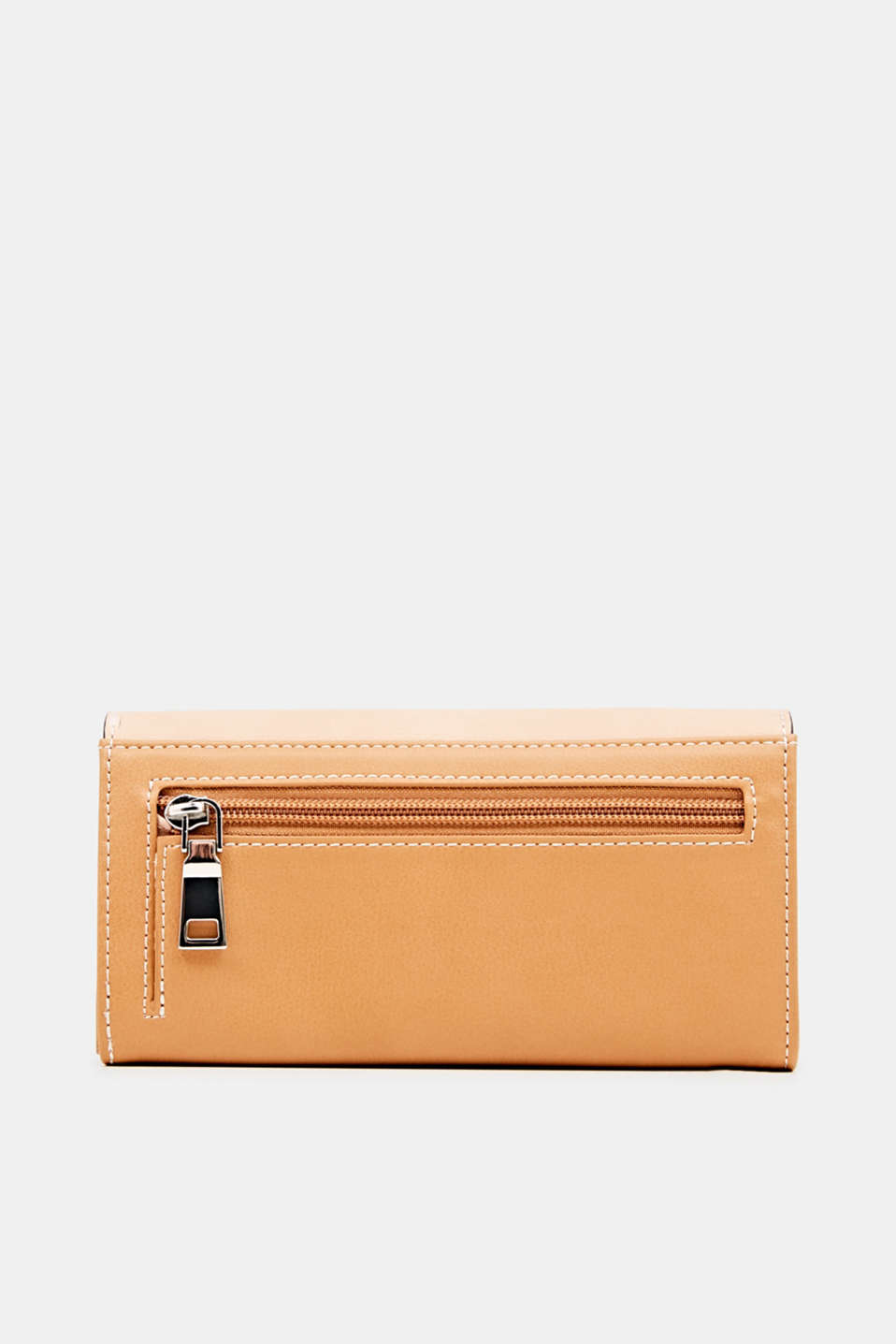 Faux leather purse, PEACH, detail image number 1