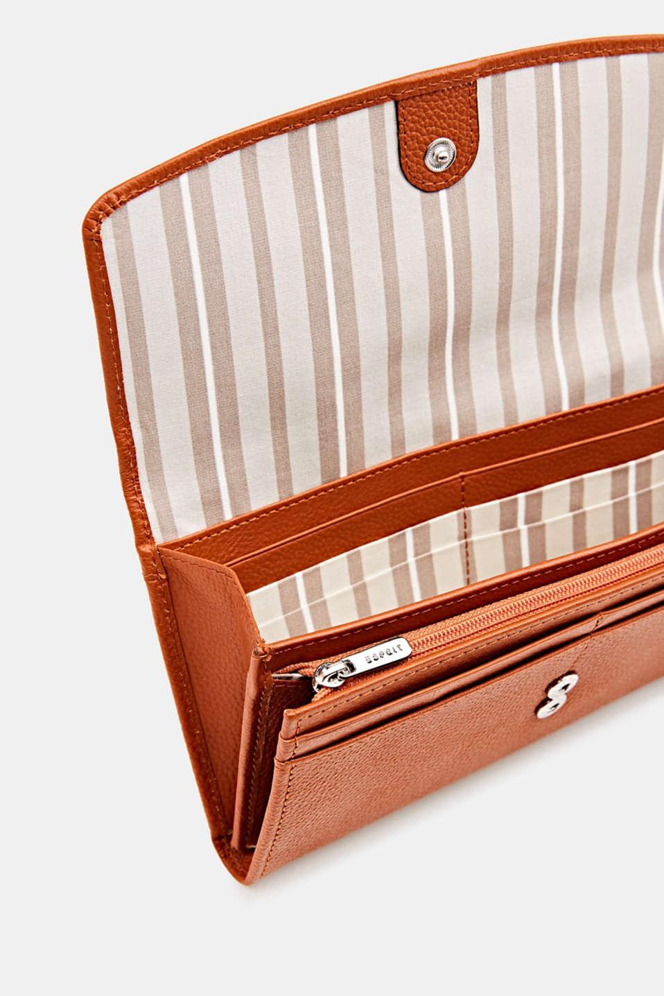 Leather purse, BURNT ORANGE, detail image number 3