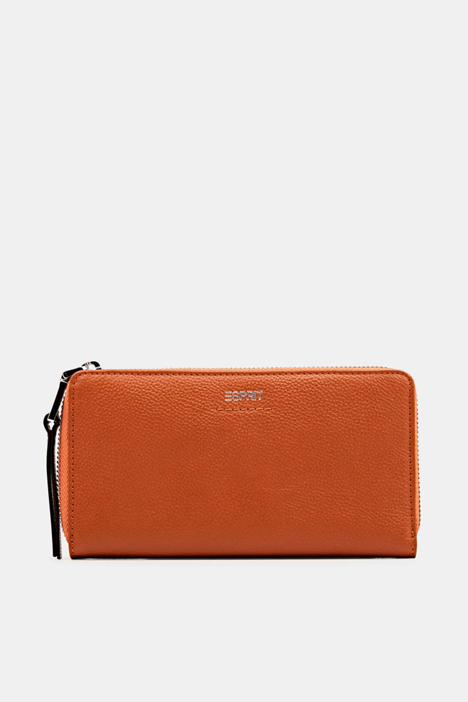 Esprit - Waiter-style purse, in leather