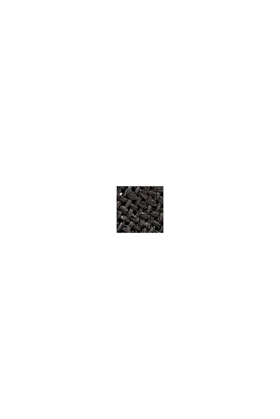 Trilby-Hut mit gestreiftem Band, BLACK, swatch