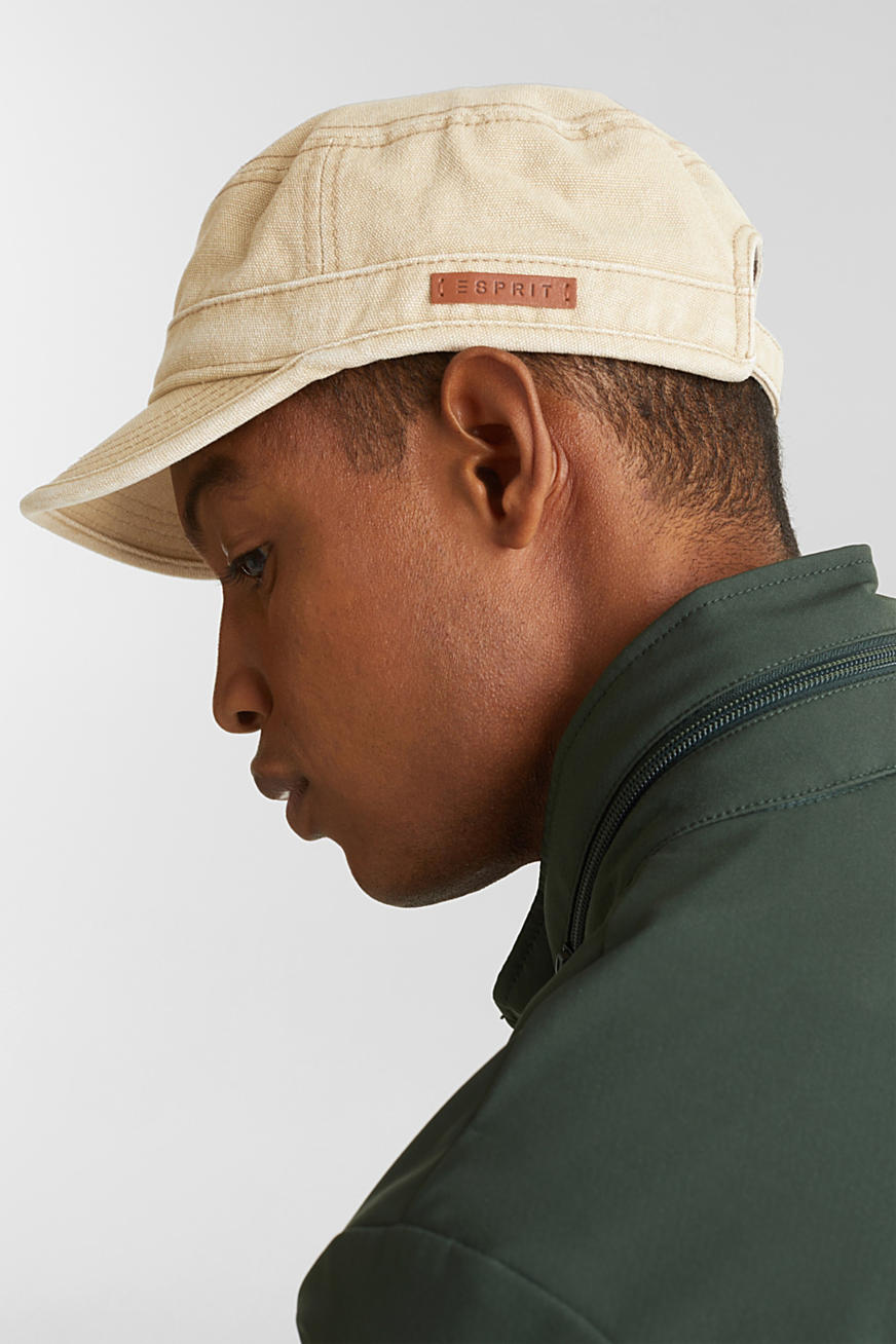 100% cotton cap