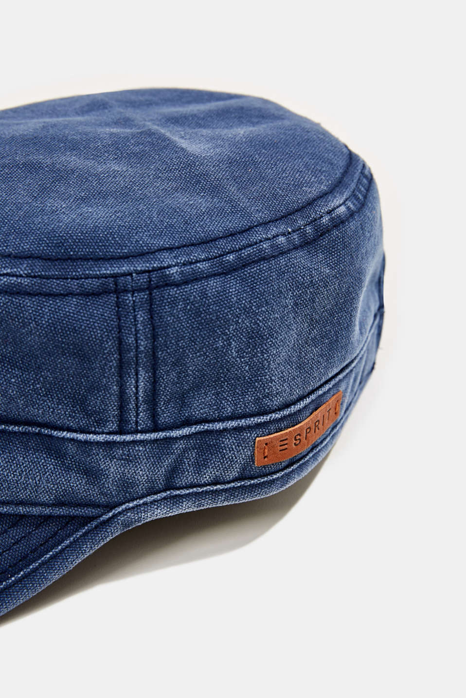100% cotton cap, NAVY, detail image number 1