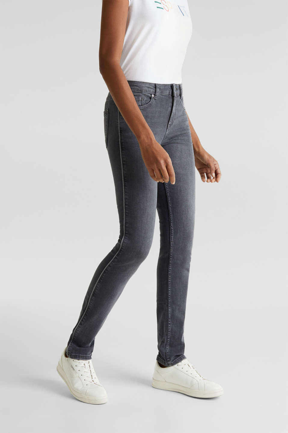 Esprit - Grey jeans with piping