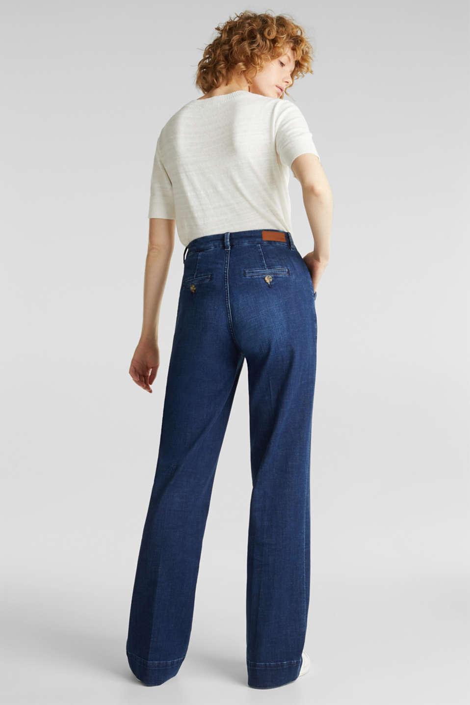 Jeans, BLUE DARK WASH, detail image number 3