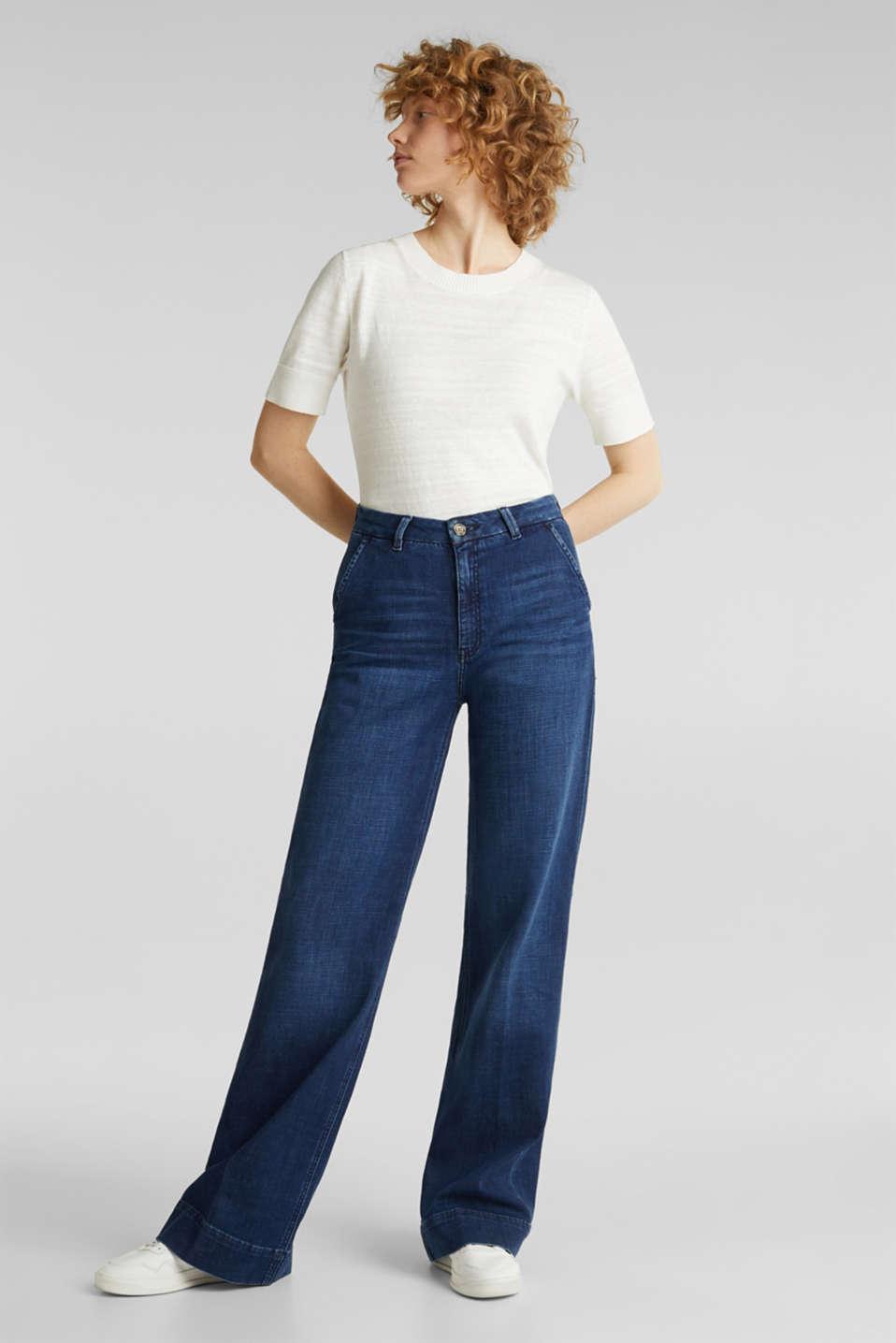 Jeans, BLUE DARK WASH, detail image number 1